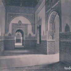 Postales: POSTAL SEVILLA. ALCAZAR.SALON DONDE MURIÓ EL REY SAN FERNANDO (GARZÓN) 430. Lote 181983507