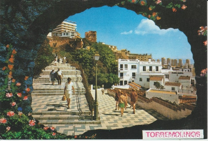 (1003) TORREMOLINOS. BAJONDILLO (Postales - España - Andalucia Moderna (desde 1.940))