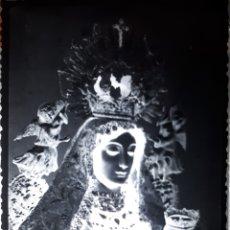 Postales: ANTIGUO CLICHÉ DE NUESTRA SEÑORA DE BELEN PILAS SEVILLA NEGATIVO EN CRISTAL . Lote 182128967