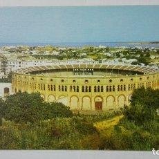 Postales: POSTAL SANLUCAR DE BARRAMEDA, PLAZA DE TOROS Y VISTA PARCIAL. Lote 182292222