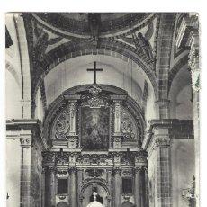 Postales: POSTAL FOTOGRÁFICA- VILLACARRILLO- Nº 12, ALTAR MAYOR DE LA PARROQUIA. JAÉN- CIRCULADA (1964). Lote 182406561