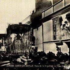 Postales: SEVILLA SEMANA SANTA PASO VIRGEN DE LA O POR TRIANA ED. ERNESTO POSTAL FOTOGRÁFICA.. Lote 182504387