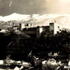 Postales: GRANADA ALHAMBRA VISTA GENERAL. POSTAL FOTOGRAFICA. Lote 182657115