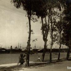 Postales: HUELVA. - MUELLE DE RIO TINTO. Lote 182662900