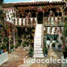 Postales: CORDOBA - Nº 10 PATIO CORDOBES PRIMER PREMIO - PATRIMONIO DE LA HUMANIDAD - E DE ORO - SIN CIRCULAR. Lote 182700988