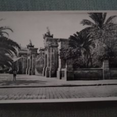 Postales: POSTAL MELILLA. ENTRADA AL PARQUE HERNANDEZ. Lote 182797491