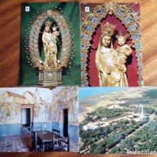 Postales: MONASTERIO DE LA RÁBIDA. HUELVA. SIN CIRCULAR. LOTE 4 POSTALES.. Lote 182840716