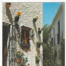 Postales: 1063 - TORREMOLINOS.- RINCÓN TIPICO DE LA NOGALERA.. Lote 182861210