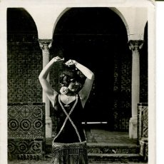 Postales: ANDALUCÍA TÍPICA- UNA BAILARINA-FOTOGRÁFICA-- ROISIN - RARA. Lote 182869563