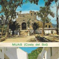 Postales: LIBRETO CON 12 POSTALES DE MIJAS (COSTA DEL SOL) PUEBLO BLANCO. Lote 182954558