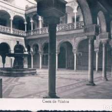 Postales: POSTAL SEVILLA - CASA DE PILATOS - ARRIBAS. Lote 182957385