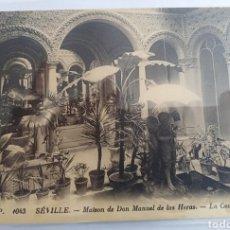 Postales: SEVILLA, SEVILLE, CASA MANUEL DE LAS HERAS, LUCIEN LEVI. Lote 183172752