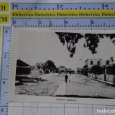 Postales: PEQUEÑA FOTO POSTAL DE HUELVA. AÑOS 30 50. PUNTA UMBRÍA. 0. Lote 183211156