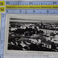 Postales: PEQUEÑA FOTO POSTAL DE HUELVA. AÑOS 30 50. PLAZA DE LA MERCED. 0. Lote 183211866