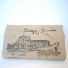 Postales: CARTUJA DE GRANADA, CON 12 POSTALES EN ACORDEÓN.. Lote 183260126