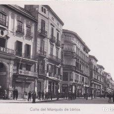 Postales: MÁLAGA - CALLE DE MARQUÉS DE LARIOS (NO. 12) - ED. ARRIBAS. Lote 183306047