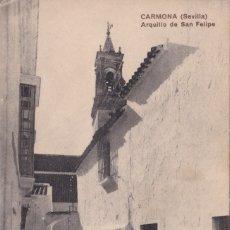 Postales: CARMONA (SEVILLA) - ARQUILLO DE SAN FELIPE - ED. DUBOIS. Lote 183312387