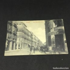 Postales: POSTAL DE MALAGA - EDICIÓN RAFAEL MUÑOZ - CALLE MARQUES DE LARIOS - CIRCULADA. Lote 183422595