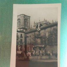 Postales: POSTAL GRANADA - PLAZA DE BI-RAMBLA F.GALLEGOS. Lote 183617897