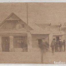 Postales: FOTOGRAFÍA ALBÚMINA. CÁDIZ. UNA OFICINA DEL PUERTO. NO FIGURA FOTÓGRAFO.. Lote 183670920
