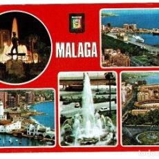 Postales: MALAGA DIVERSOS ASPECTOS Nº 112 DOMINGUEZ - NO CIRCULADA. Lote 183718972