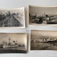 Postales: LOTE DE 4 POSTALES , DE CADIZ N. 215 . Lote 183800850