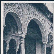 Postales: POSTAL GRANADA - PALACIO DEL GENERALIFE - PEPTOPANCREASI SERONO. Lote 183816413