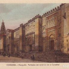 Postales: CÓRDOBA - MEZQUITA - PORTADAS DEL EXTERIOR DE LA CATEDRAL (NO. 10) - ED. ARRIBAS. Lote 183843845