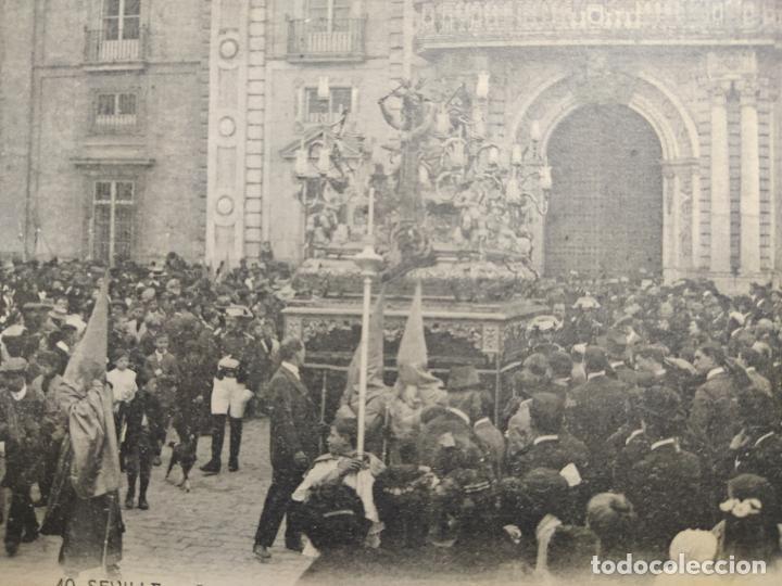 Postales: SEVILLA-SEMANA SANTA-JESUS ATADO-CAPILLA FABRICA DE TABACOS-40-MANUEL BARREIRO-POSTAL ANTIGUA(64487) - Foto 2 - 183857808