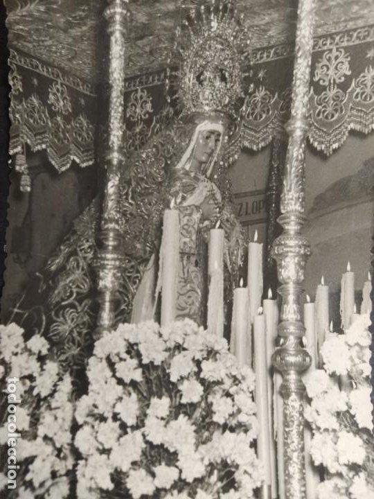 Postales: HUELVA-NUESTRA SEÑORA DE LOS DOLORES-PARROQUIA DE LA CONCEPCION-FOTO RAFAEL VAZQUEZ-(64.489) - Foto 2 - 183858267
