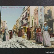 Postales: SEVILLA-MERCADO DEL JUEVES-PURGER & CO 2699-VER REVERSO SIN DIVIDIR-(64.505). Lote 183858570
