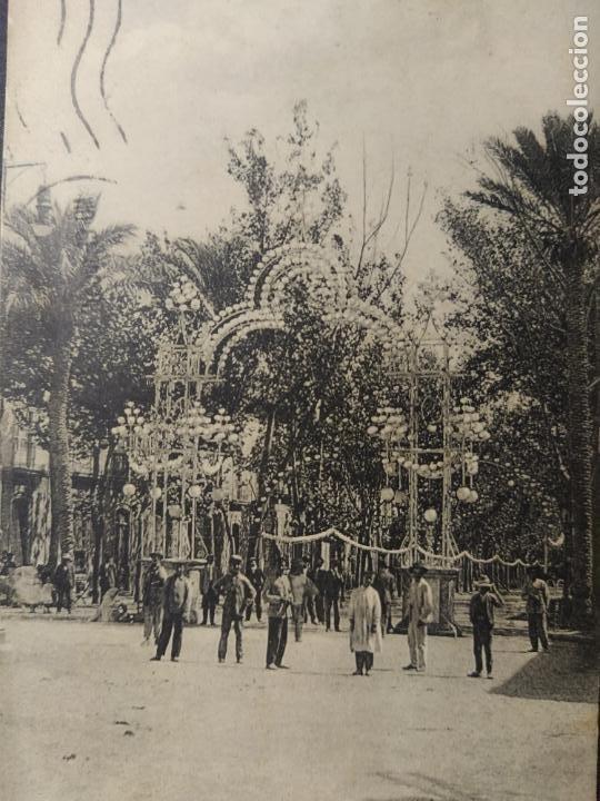 Postales: ALMERIA-ENTRADA AL REAL DE LA FERIA-L.S.P. 1-POSTAL ANTIGUA-(64.506) - Foto 2 - 183858871