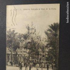 Postales: ALMERIA-ENTRADA AL REAL DE LA FERIA-L.S.P. 1-POSTAL ANTIGUA-(64.506). Lote 183858871