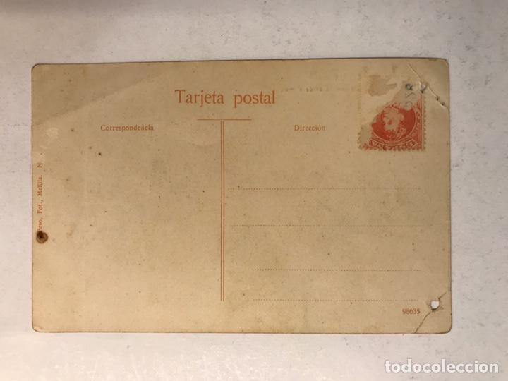 Postales: MELILLA. Postal Vista General desde el Mar. Edita: Foto Peso Melilla (h.1920?) - Foto 2 - 183862996