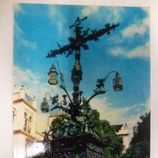 Postales: POSTAL. 1086. SEVILLA. CRUZ DE CERRAJERÍA. HELIOTIPIA ARTÍSTICA ESPAÑOLA. CIRCULADA. . Lote 183912610
