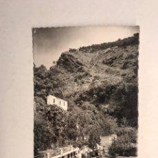 Postales: LANJARON (GRANADA) POSTAL FOTOGRAFÍCA NO.23, PISCINA DE RÍO. EDITA: ED. ARRIBAS (A.1964). Lote 183959903