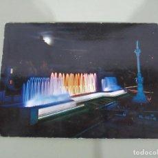 Postales: GRANADA - FUENTE MONUMENTAL DEL TRIUNFO - ESCRITA. Lote 184015210