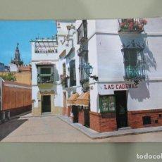 Postales: SEVILLA - BARRIO DE SANTA CRUZ. RINCÓN TÍPICO - ESCRITA. Lote 184560282