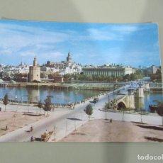Cartes Postales: SEVILLA - GUADALQUIVIR, PUENTE DE SAN TELMO - S/C. Lote 184561005