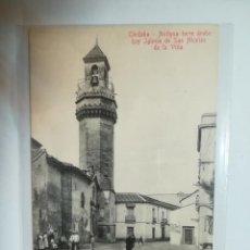 Cartoline: TARJETA POSTAL. CORDOBA. ANTIGUA TORRE ARABE HOY IGLESIA DE SAN NICOLAS DE LA VILLA. R.GARZON. Lote 184808123