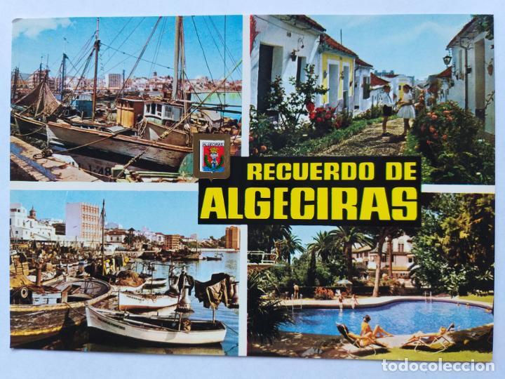 ALGECIRAS: CÁDIZ. DIVERSOS ASPECTOS. SUBIRATS CASANOVAS Nº 26 (Postales - España - Andalucia Moderna (desde 1.940))