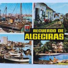 Postales: ALGECIRAS: CÁDIZ. DIVERSOS ASPECTOS. SUBIRATS CASANOVAS Nº 26. Lote 186076737