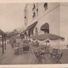 Postales: CADIZ - GRAN HOTEL ATLANTICO - TERRAZA DEL COMEDOR. Lote 186100722