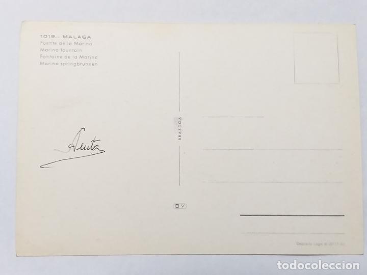 Postales: POSTAL DE MALAGA. FUENTE DE LA MARINA. # 1019. - Foto 2 - 186241568