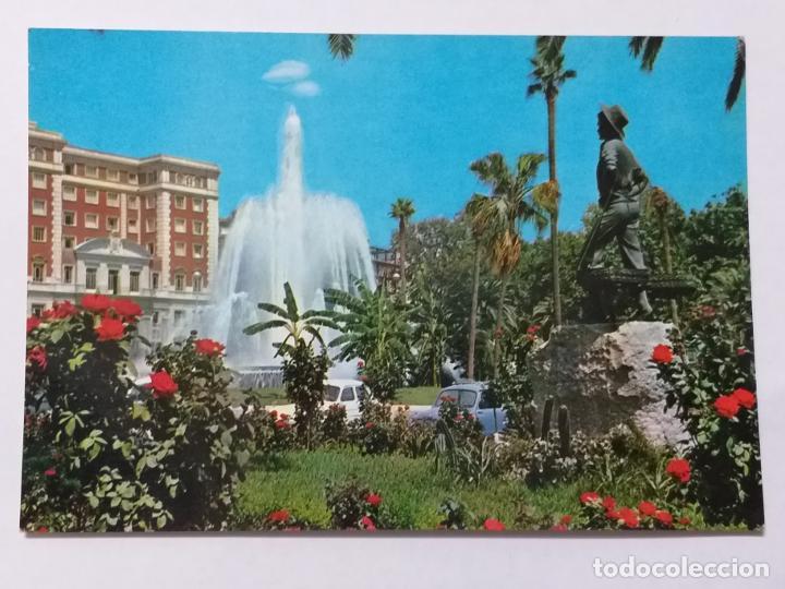 POSTAL DE MALAGA. FUENTE DE LA MARINA. # 1019. (Postales - España - Andalucia Moderna (desde 1.940))