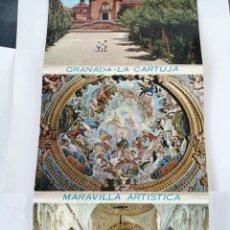 Postales: 12 POSTALES GRANADA LA CARTUJA. Lote 186388018