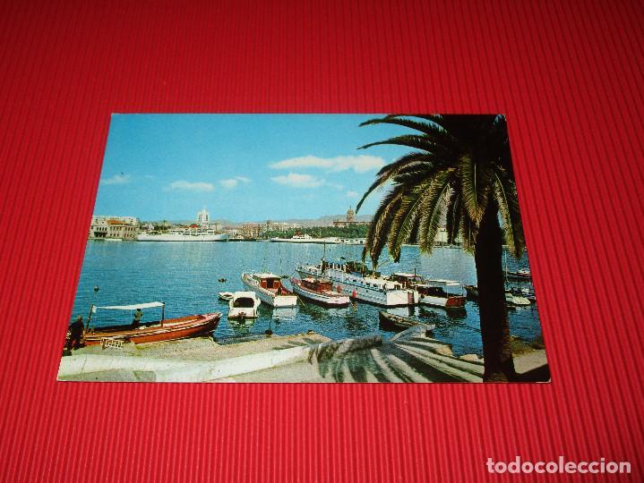 MALAGA - PUERTO Y VISTA PARCIAL - 1012 - SIN USAR - BEASCOA (Postales - España - Andalucia Moderna (desde 1.940))