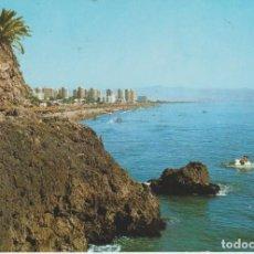 Postales: (89) TORREMOLINOS. LA ROCA Y PLAYA DE EL BAJONDILLO. Lote 187509412