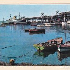Cartes Postales: POSTAL MUELLE DE RIO TINTO. HUELVA (1963). Lote 188668845