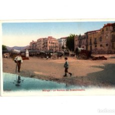 Postales: MÁLAGA.- LA RAMBLA DEL GUADALMEDINA.. Lote 188836490